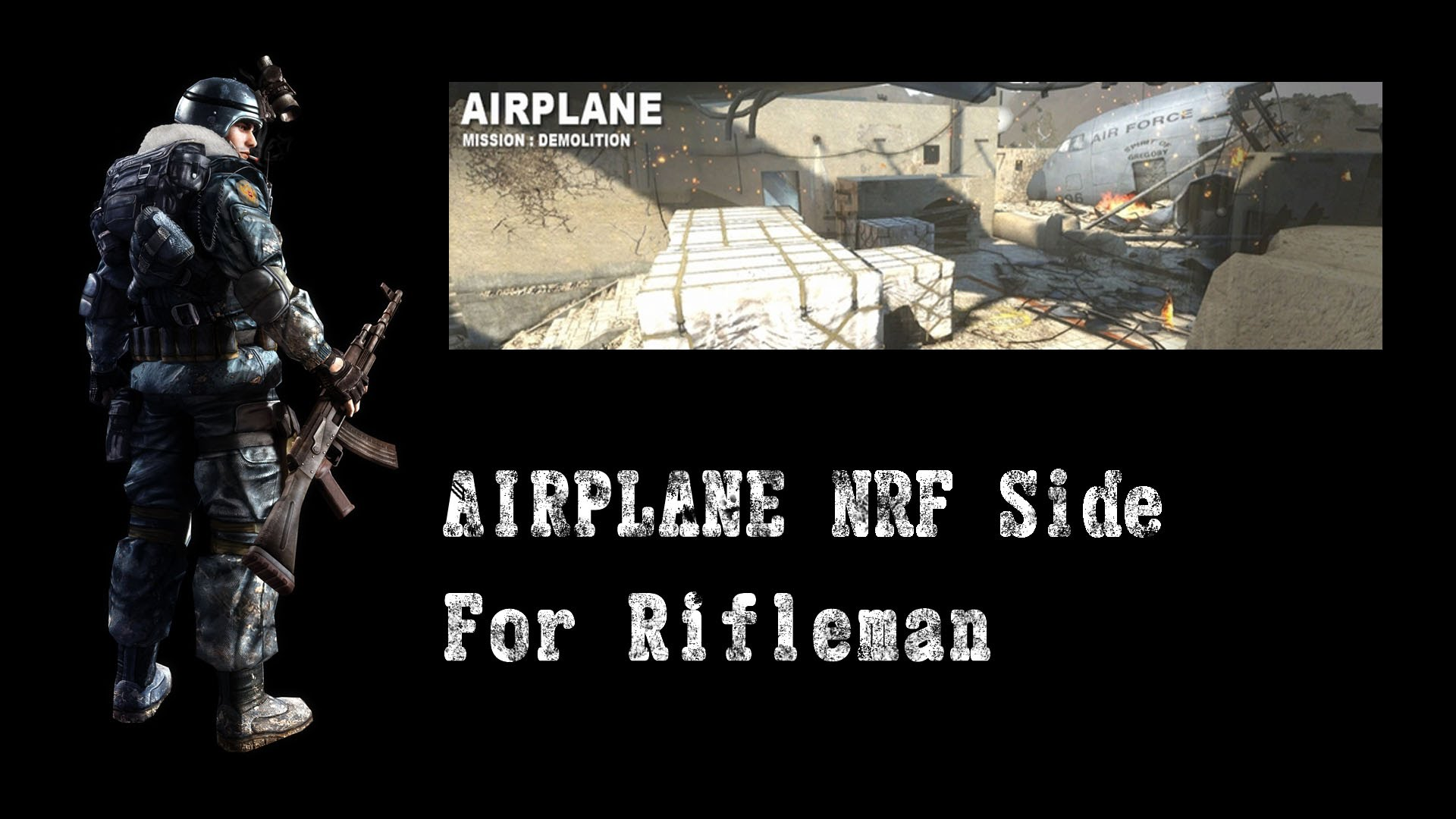 AIRPLANE NRF Side
